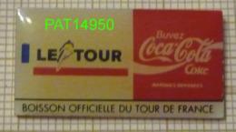 COCA COLA    BOISSON OFFICIELLE  Du TOUR De FRANCE CYCLISTE 92 - Coca-Cola