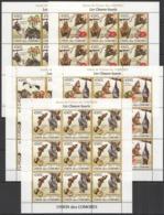 ZZ300 2009 UNION DES COMORES FAUNA ANIMALS BATS LES CHAUVE-SOURIS !!! 9SET MNH - Fledermäuse
