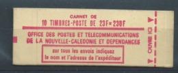Nouvelle-Calédonie : Carnet C-139 Type Concorde Carnet Complet Non Ouvert ** - Booklets