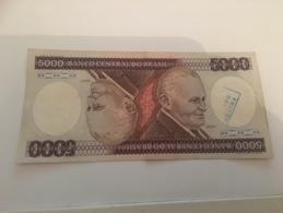 Billet 5000 Cruzeiros Bresil - Brésil