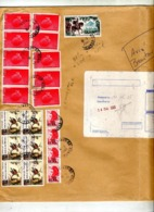 Lettre Recommandée Vesinet Sur Conseil Europe Soierie  Ecu Plié - Postmark Collection (Covers)