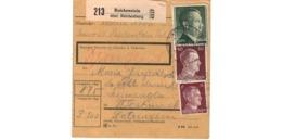Colis Postal  -  De Reichenstein ( über Reichenburg ) - Deutschland