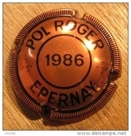 CAPSULE CHAMPAGNE POL ROGER  EPERNAY 1986 - Pol Roger