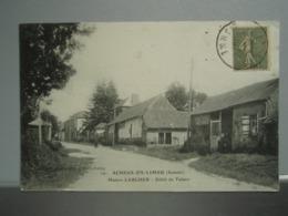 Cpa ACHEUX-en-VIMEU Maison LARCHER Débit De Tabacs. 1918 - Autres Communes