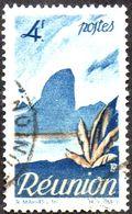 Réunion Obl. N° 274 - Détail De La Série émise En 1947 Le 4f Bleu - Oblitérés