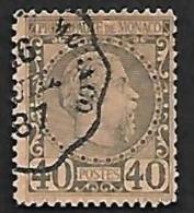 MONACO  1885  -   YT  7 -  Oblitéré - Cote 60e - Monaco