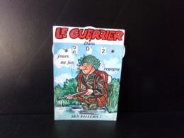 """Calendrier De La Classe """" Père Cent """" Le Guerrier Regagne Ses Foyers Dans ... """" - Humour"""