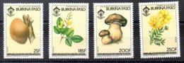 Serie De Burkina-Faso N ºYvert 639C/F ** SETAS (MUSHROOMS) - Burkina Faso (1984-...)