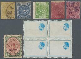Iran: 1870-1980 Ca., Small Album Containing First Issues, Few Signed Sadri, To Modern Varieties, Per - Iran