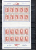 Année 1972 : 1628 ** En Feuilles De 20 - Belgica 72 - Hojas Completas