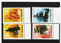 YZO833 ALBANIEN 1984 MICHL 2233/36 ** Postfrisch SIEHE ABBILDUNG - Albanien