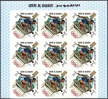Umm Al Qaiwain: 1968/1972, Comprehensive U/m And Used Accumulation In Three Binders, Incl. Nice Them - Umm Al-Qaiwain