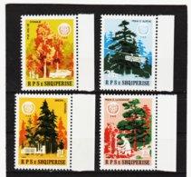 YZO835 ALBANIEN 1984 MICHL 2233/36 ** Postfrisch SIEHE ABBILDUNG - Albanien
