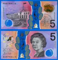 Australie 5 Dollars 2016 Polymere Australia Prefix DC Que Prix + Port Polymer Skrill Paypal OK - Emisiones Gubernamentales Decimales 1966-...