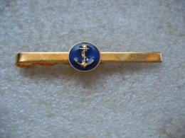 Pince à Cravate Des Troupes De Marine - Navy