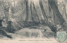 92) ROBINSON : Château Du Moulin Fidèle - Pièce D'eau (1905) - Frankreich