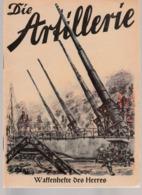 Waffenhefte Des Heeres, Die Artillerie, Magazine For Hitler-Youth,HJ,DJ,Pimpfe - Hobbies & Collections