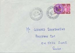 "FRANKREICH 1984 K1 ""92 MEUDON-LA-FORET / HAUTS-DE-SEINE"" KOPFSTEHENDES DATUM - Poststempel (Briefe)"