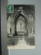 Cpa BERCK-PLAGEIntérieur De La Chapelle Cazin-Pérrochaud - Berck