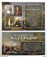# Antigua & Barbuda 2015**Mi.5300-04  Battle Of Waterloo , MNH [18;29] - Geschichte
