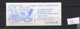 Carnets Marianne Du 14 Juillet ,N° 3419 C14, 10 Timbres - Carnets