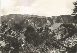 W4836 CAI Sezione Di Palermo - Le Madonie - Panorama Dalla Mufàra Alla Quacella / Viaggiata 1965 - Italie