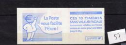 Carnets Marianne Du 14 Juillet ,N° 3419 C2, 10 Timbres - Booklets