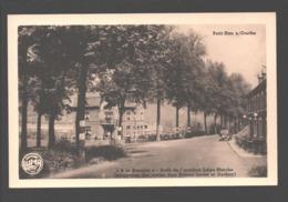 Petit-Han S/Ourthe - A L Barrière - Arrêt De L' Autobus Liège-Marche (bifurcation Des Routes Vers Somme-Leuze Et Durbuy - Durbuy