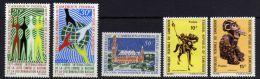 Cameroun  N° 499 / 500 + 506 / 08  X  Les 5  Valeurs   Trace De Charnière Sinon TB - Camerún (1960-...)