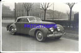120379 AUTOMOBILE OLD CAR AUTO COUPE PHOTO NO POSTAL POSTCARD - Non Classificati