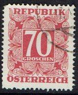 Österreich 1949, Porto, MiNr.: 244, Gestempelt - Segnatasse