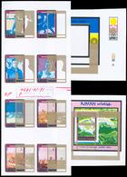 Naher Osten: 1967-1983: Large Assortment Of Artworks/drawings + Overlays (unique!), Final Artworks, - Francobolli