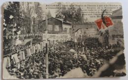 CPA Peu Courante Baccarat Entrée Du 17 Bataillon De Chasseurs à Pied Et Escadron Du 4 Chasseurs à Cheval 16 Avril 1914 - Guerre 1914-18