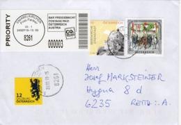 Brief Von 8261 Sinabelkirchen Postpartner Mit 80 Cent Mischfrankatur 2019 - 2011-... Lettere