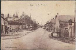 Eure Et Loir : Civry, La Rue Principale - Frankrijk