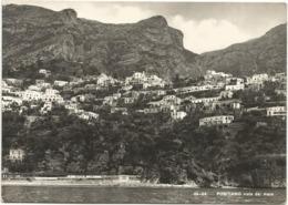 W4840 Positano (Salerno) - Panorama Visto Dal Mare / Viaggiata 1957 - Italia