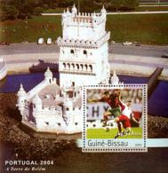 Guine-Bissau 2003 - Football EURO 2004 Portugal S/s - Guinée-Bissau