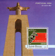 Guine-Bissau 2003 - Football EURO 2004 Portugal S/s - Guinea-Bissau