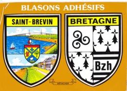 Blasons   Saint Brevin  Bretagne - Francia