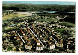 Montchanin Les Mines - Cité De La Gare (rotonde) - Vue Aérienne - Circulé Sans Date, Sous Enveloppe - France