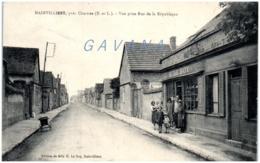 28 MAINVILLIERS Près Chartres - Vue Prise Rue De La République - Autres Communes