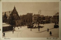 Haarlem // Groote Markt Met Tram 1915 - Haarlem