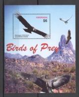 T601 GRENADA FAUNA BIRDS OF PREY EAGLES CALIFORNIAN CONDOR 1BL MNH - Other