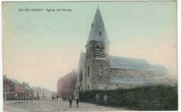 Beyne Heusay - Eglise De Heusay - Animée - Colorisée - Ed Vandenen - Beyne-Heusay