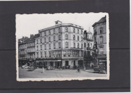 NAMUR-GRAND HOTEL DE FLANDRE-PLACE DE LA GARE-ANIMATION-VOITURES-AUTO-CARTE ENVOYEE-VOYEZ LES 2 SCANS - Namur
