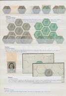 Belgien - Telegrafenmarken: 1866/1902, Specialised Assortment Of 30 Stamps Incl. 1866 50c. Grey (4) - Telegraph