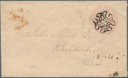 Großbritannien - Ganzsachen: 1842 - 1855, 22 Used 1 D Stationery Envelopes, Each With Ascher/ Michel - 1840 Mulready-Umschläge