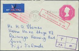 Großbritannien - Ganzsachen: 1953/95 QUEEN ELISABETH II. Ca. 130 Unused And Commercially Used Postal - 1840 Mulready-Umschläge