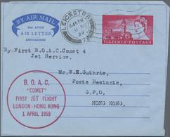 Großbritannien - Ganzsachen: 1953/95 QUEEN ELISABETH II. Ca. 130 Unused/CTO-used And Commercially Us - 1840 Mulready-Umschläge
