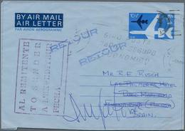 Großbritannien - Ganzsachen: 1953/95 QUEEN ELISABETH II. Ca. 140 Unused/CTO-used And Commercially Us - 1840 Mulready-Umschläge